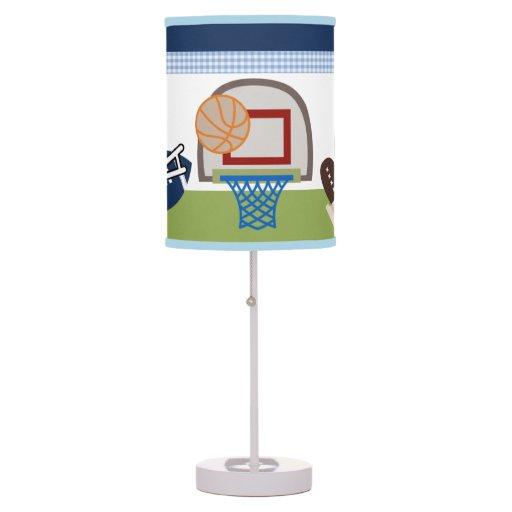 Varsity Sports Baby Nursery Lamp