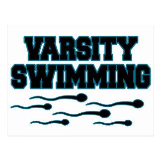 Varsity Swimming Post Card