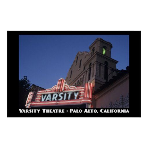 Varsity Theatre Poster