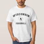 Varsity Wisconsin Foosball T-Shirt