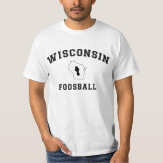 Varsity Wisconsin Foosball Tee Shirt