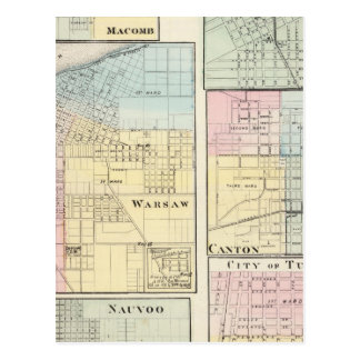 Varsovia, Macomb, Marshall, cantón Tarjetas Postales