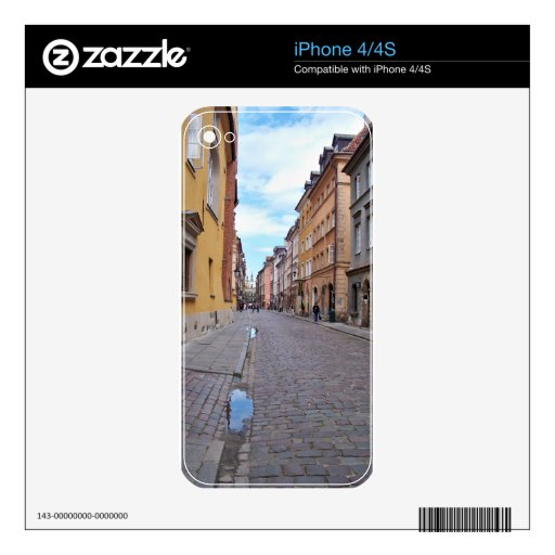 Varsovia, Polonia Calcomanía Para iPhone 4S
