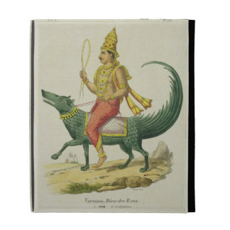Varuna, God of the Oceans, engraved by Charles Eti iPad Folio Cases