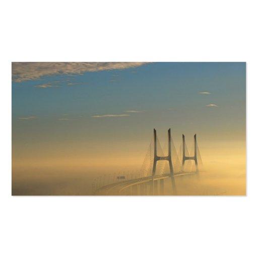 Vasco da Gama Bridge Business Card
