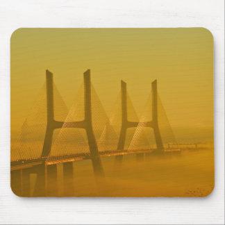 Vasco da Gama Bridge Lisbon Portugal Mousepads