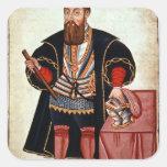 Vasco da Gama, ejemplo Calcomanias Cuadradas