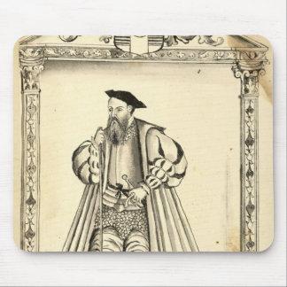 Vasco da Gama  from 'Lendas da India' Mouse Pad