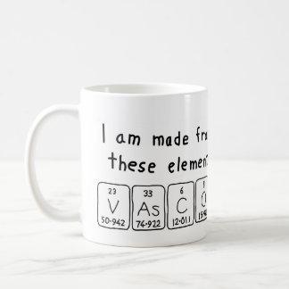 Vasco periodic table name mug