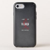 VASCULAR DISEASE AWARENESS SPECK iPhone CASE