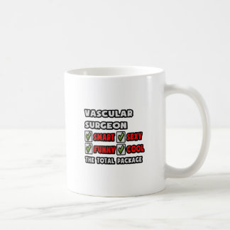 Vascular Surgeon ... The Total Package Classic White Coffee Mug