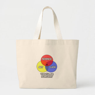 Vascular Surgery .. Science Art Luck Jumbo Tote Bag