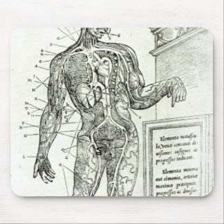Vascular System according to Charles Etienne Mouse Pad