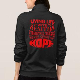 Vasculitis Living Life with Faith Jacket