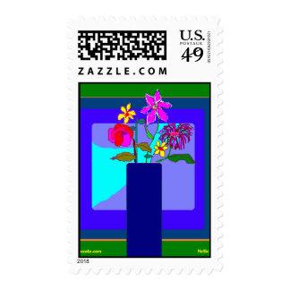 Vase #2 postage stamps