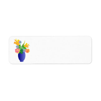vase-306477  vase flowers blue colorful fresh summ label