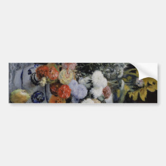 Vase and flower of china bumper stickers