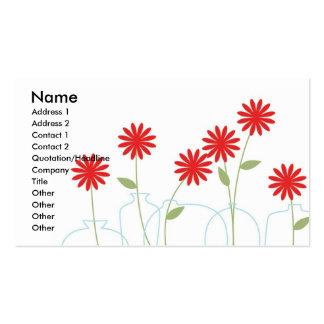 Vase Business Cards