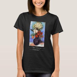 Vase Carnations Other Flowers Vincent van Gogh T-Shirt