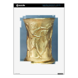 Vase decorated with mythological creatures, Persia iPad 3 Decals