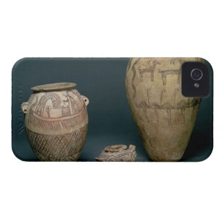 Vase decorated with various friezes of animals and iPhone 4 case