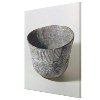 Vase, from Fontbouisse, 2300-1700 BC Canvas Print
