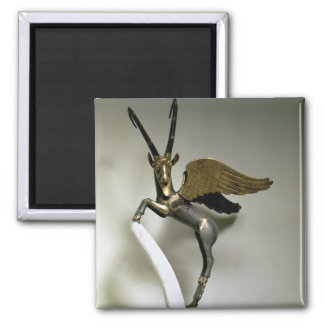 Vase handle in the form of a winged ibex, Achaemen Magnet