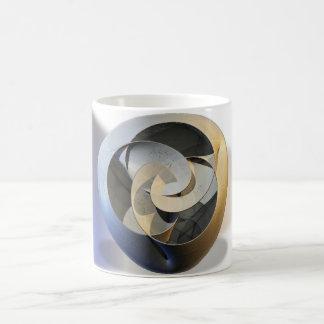 Vase in fractals coffee mug