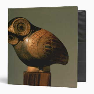 Vase in the form of an owl, Proto-Corinthian Binders