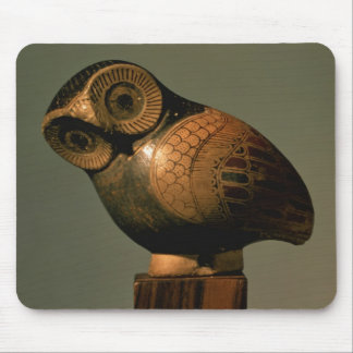 Vase in the form of an owl, Proto-Corinthian Mouse Pad