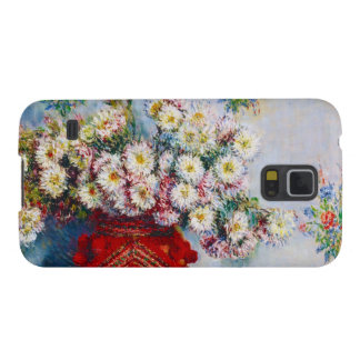 Vase of Chrysanthemums Claude Monet Galaxy S5 Case