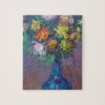 "Vase of Chrysanthemums Claude Monet Jigsaw Puzzle<br><div class=""desc"">Vase of Chrysanthemums Claude Monet cool,  old,  master,  masterpiece,  fine,  retored,  impressionism,  paint,  painting,  vibrant,  saturated,  colour,  beautiful,  nice,  quality,  high,  resolution,  landscape,  scenery,  post,  decoration,  colors,  paris,  france,  renewed best,  seller,  colourful, cheap,  vase, chrysanthemums, cool, old, master, masterpiece, f</div>"