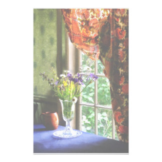 Vase of Flower and Mug By Window Stationery