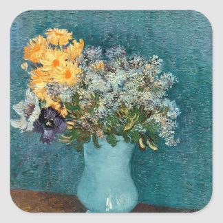 Vase of Flowers, 1887 Sticker