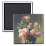 Vase of Flowers 2 2 Inch Square Magnet