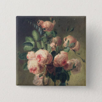 Vase of Flowers 2 Pinback Button