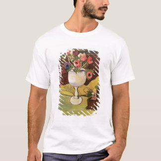 Vase of Flowers, Anemones in a White Glass T-Shirt