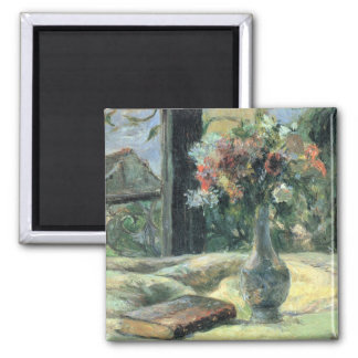 Vase of Flowers at the Window - 1881 Magnet