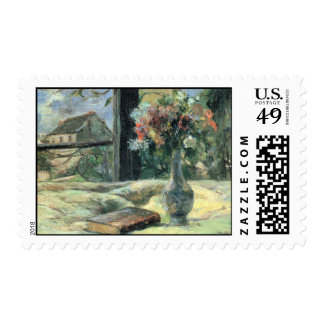 Vase of Flowers at the Window - 1881 Postage