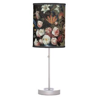 Vase of Flowers by a Window, Balthasar van der Ast Desk Lamp