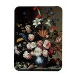 Vase of Flowers by a Window, Balthasar van der Ast Vinyl Magnet