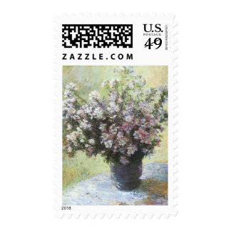 Vase of Flowers by Claude Monet Postage
