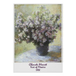 Vase of Flowers by Claude Monet Posters