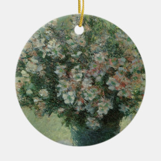 Vase of Flowers by Claude Monet, Vintage Fine Art Ceramic Ornament