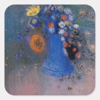 Vase of Flowers by Odilon Redon Sticker