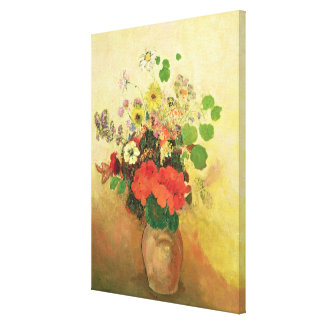 Vase of Flowers, c.1908-10 (oil on canvas) Canvas Print