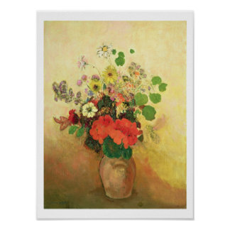 Vase of Flowers, c.1908-10 (oil on canvas) Poster