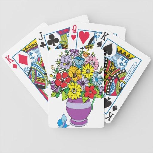 Vase of Flowers Card Deck
