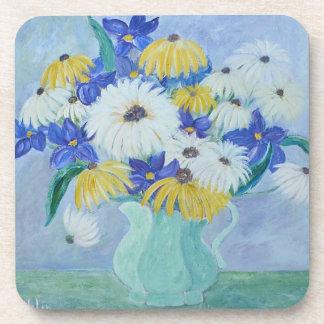 Vase of Flowers Coaster