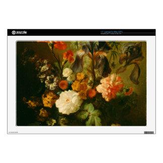 """Vase of Flowers II 17"""" Laptop Decal"""